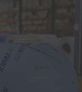 Mirawall, aluminium prélaqué poudre numéro 1